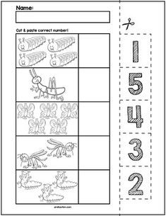 Needs of plants worksheets for preschool #preschool #