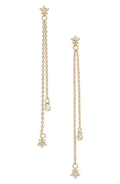 Star Linear Earrings