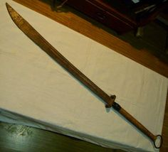 A classic old Chang Dao ('longsword')