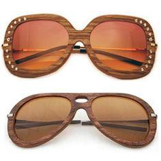 Wood sunglasses.  Need them.