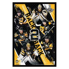 Trends International 2017 Stanley Cup Champions Poster - RP15142