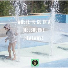Top 12 Places to Go in a Melbourne Heatwave with kids. Best beaches, outdoor pools, museums, libraries, galleries, indoor play centres, ice skating, cinemas