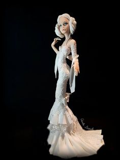 Lady Wedding Day ❤️ Fondant Figures, Work Inspiration, Elsa, Wedding Day, Disney Princess, Lady, Sugar, Pi Day Wedding, Marriage Anniversary