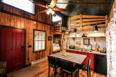 400 Sq. Ft. Walden Tiny House by Hobbitat Spaces (pinned by haw-creek.com)