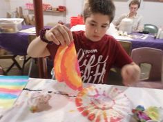 Tuesday afternoon art classes explored color. Students used the medium of watercolor to learn about the color wheel. Everyone enjoyed exploring color relationships. There was plenty of exploring, w…