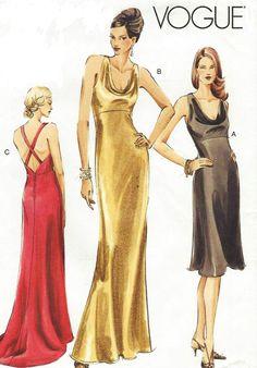 Cocktail dress patterns bias