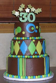 284 Best 30th Birthday Cakes Images 30 Birthday Cake Bakken