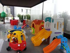 Un super cumpleaños con juegos para todas las edades! Kids Indoor Playground, Playground Design, Kids Play Equipment, Outdoor Activities For Kids, Kids Play Area, Candy Table, School Decorations, Nursery Design, Outdoor Fun