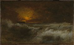Sunset over the Sea George Inness (1887)