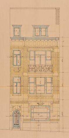Schaerbeek - Avenue Ernest Renan 7, 9 - HENRY Émile