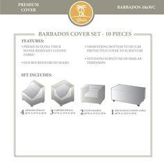 TKC BARBADOS-10a Winter Cover Set, Beige