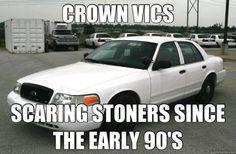 ford crown victoria ltd, funny humor stoners marijuana