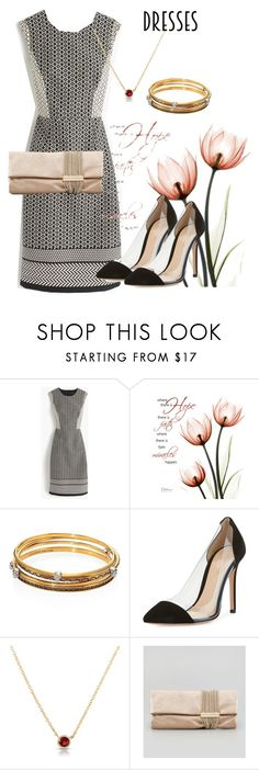 """dress"" by masayuki4499 ❤ liked on Polyvore featuring J.Crew, Alexander McQueen, Gianvito Rossi and Jimmy Choo"