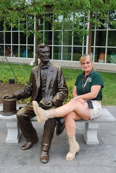 """Abe heartily agrees and is waiting for his boots to show his support and THANKS!""     - Lisa K., Virginia"