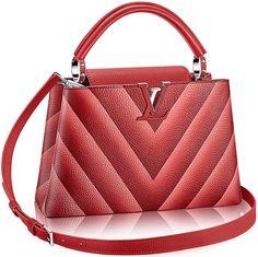 acee4cf98b85 Louis Vuitton Chevron Capucines Bag
