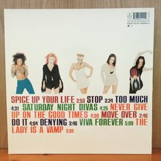 """Spice Girls Spiceworld Vinyl (1997) Back. ✌️ #spicegirls #spiceworld #vinyl #record #album #girlpower #90s #merchandise #collection"""