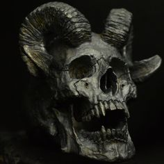 Into The Fire Jewelry - Skull ring Horned Beast silver mens skull biker masonic rock n roll gothic handmade jewelry etsy - Awesome Skulls Silver Skull Ring, Skull Rings, Skull Reference, Beast, Totenkopf Tattoos, Punk Jewelry, Skull Jewelry, Gothic Jewelry, Into The Fire