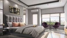 Vario Homes offering the luxury apartments in Hebbal Bangalore for a newly-married couple where they can arrange house parties with friends. Newly Married, Luxury Apartments, House Party, Parties, Homes, Couple, Curtains, Friends, Bed