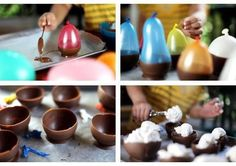 Yummy edible chocolate bowls