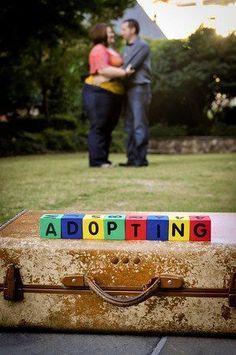 adopting parents photo shoot idea