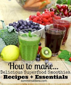 living the 80/20 rule + superfood smoothie recipes