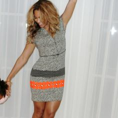 Beyonce wearing our ARC BANGLE in Gold!!  { Right Wrist }