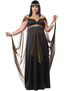 Queen Of The Nile Plus Size Costume from Angels - Angels Fancy Dress Costumes