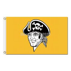 #YELLOW #PITTSBURGH #PIRATES #FLAG #BASEBALL #WORLD #SERIES #CHAMPIONS #SUPER #FANS #TEAM #FLAGS #BANNER #3X5 #FT #BANNERS #100D #POLYESTER