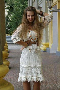 Wzór szydełkowej sukienki Vanessy Montoro