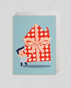New Home - Greetings Card for Lagom Design
