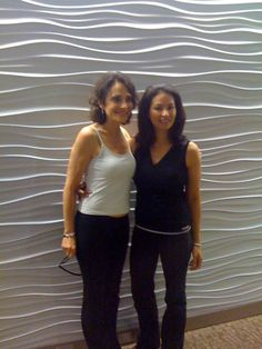The Belly Firm founder Lana with Julie Tupler in New York