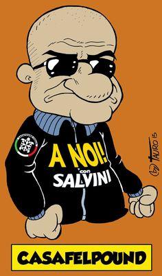 #satira #salvini #IoSeguoItalianComics