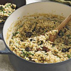 Rice - Mushroom & Arugula Risotto