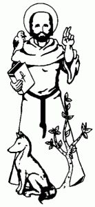 saint francis of assisi coloring page  Buscar con Google