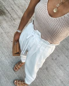 Chic Summer Outfits, Casual Summer Dresses, Spring Summer Fashion, Trendy Outfits, Autumn Fashion, Casual Summer Style, Summertime Outfits, Casual Dressy, Summer Ootd