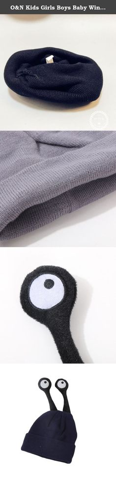 O&N Kids Girls Boys Baby Winter Warm Knitted Beanie Hat Funny Eyes Cute Hats Cap. Product details: O&N Kids Girls Boys Baby Winter Warm Knitted Beanie Hat Funny Eyes Cute Hats Cap Material:Wool,Acrylic Color:Red,Gray,Beige,Black,Claret,Navy Size Detail: Hat Circumference:20.4 inches (52cm) Hat Weight :130g.