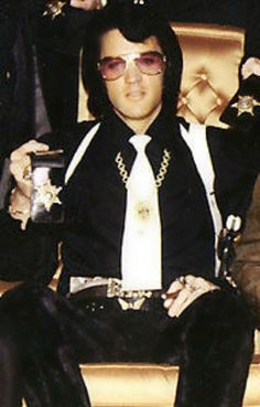 Elvis was deputized as an agent of the Bureau of Narcotics and Dangerous Drugs.