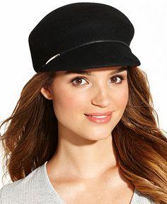 Nine West Hat, Classic Felt Newsboy - All Accessories - Handbags & Accessories
