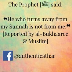 Stick to the Sunnah