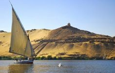 A Felecca a traditional boat I so want to saildown the Nile in one