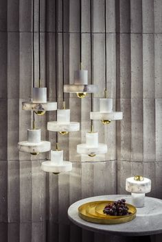 Stockholm Furniture & Light Fair Preview: New Plane Drop and Void lamps by Tom Dixon