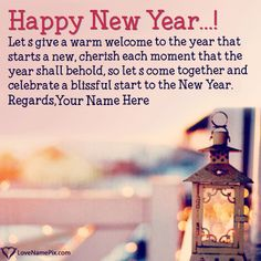 create new year wishes friends and family with name along with best new year quotes and