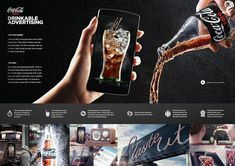 Winners :: Cannes Lions Archive Title: Coke Zero™ Drinkable Advertising Agency: Ogilvy & Mather Campaign: Drinkable Advertiser: Coca-Cola Company Brand: Coke Zero™ 4 / 2015