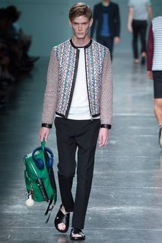 #SCS #Fendi | Spring 2015 Menswear Collection | Style.com