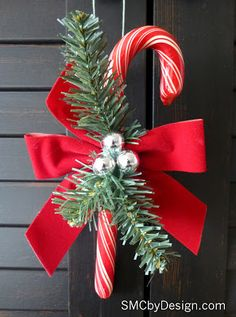 Vintage inspired Candy Cane Ornaments