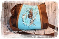 Nähanleitungen Taschen - roXXanne. eBook Schnittmuster für Handtasche - ein Designerstück von Crafting-Cafe bei DaWanda