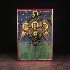Four Evangelists Tetramorph (Athos) - S275 - Legacy Icons