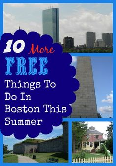 10 MORE Free Things To Do In  Boston This Summer!  #Travel