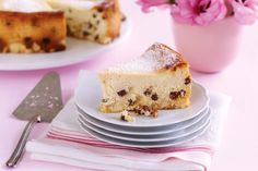 Bathed in marsala, sultanas star in this bellissimo Italian-style ricotta cheesecake.