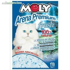 . Arena de silice para gatos. Cada bolsa dura para un mes. Muy eficaz para lalimpieza de tu gato. adopciondeunperro.blogspot.com 4.95 euros 1bolsa -1mes-1gato